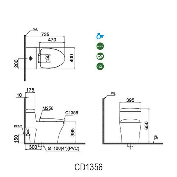 ban ve bon cau caesar CD1356