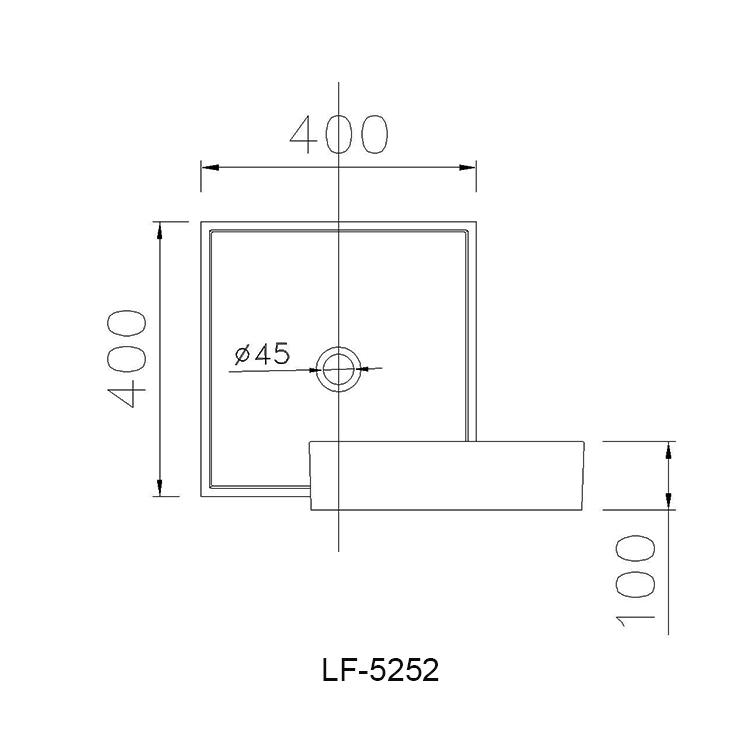 ban ve chau lavabo caesar LF5252