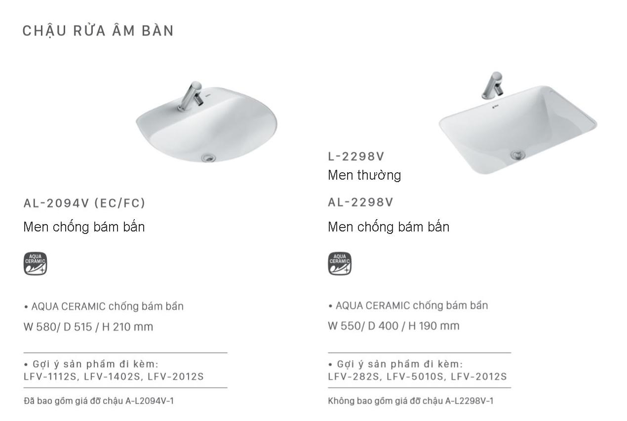 lavabo inax am ban