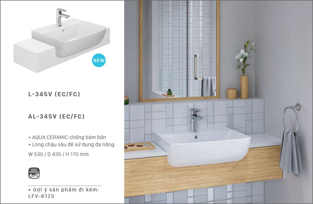 lavabo ban am ban inax al345v