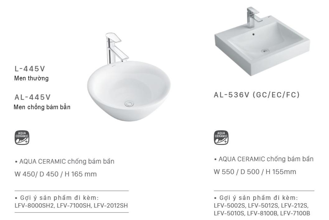 lavabo dat ban inax chua rua mat dat ban inax