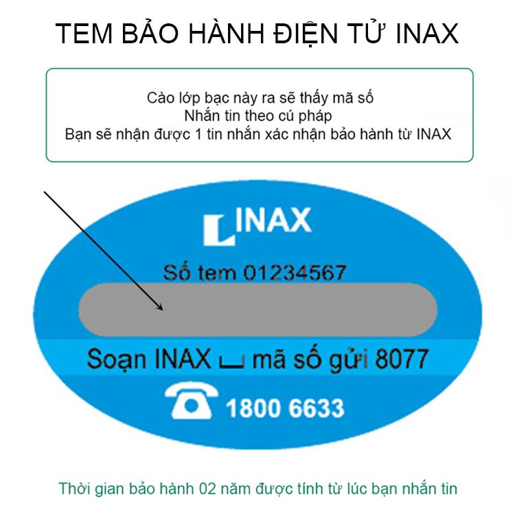 tem bao hanh inax